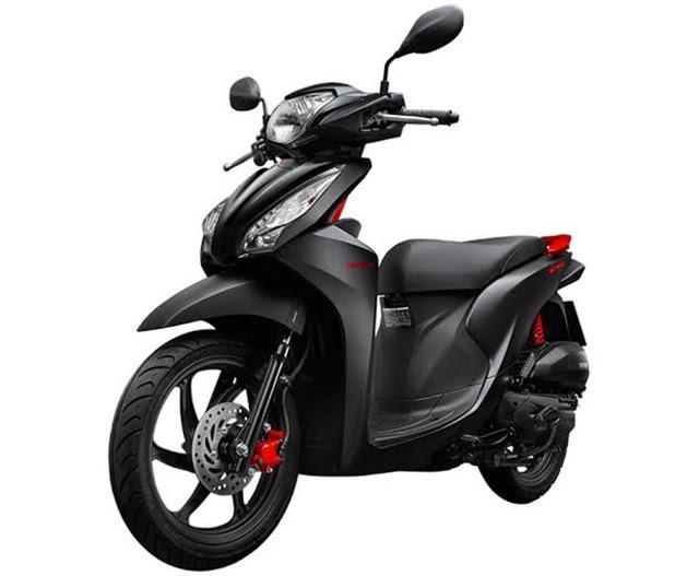 Honda Vision phiên bản 2015
