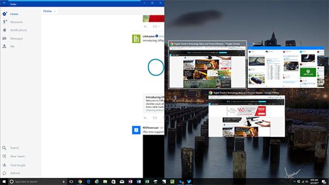 Chia đôi màn hình trên máy tính Windows 10