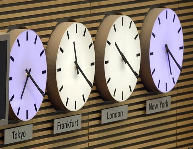 Cách tính giờ trên trái đất