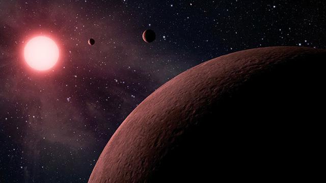 những hành tinh bên ngoài hệ mặt trời