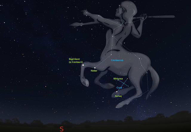 ngôi sao sáng nhất trên bầu trời đêm - Sao Agena