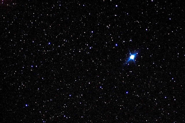 Ngôi sao sáng nhất bầu trên trời đêm - Sao Achernar