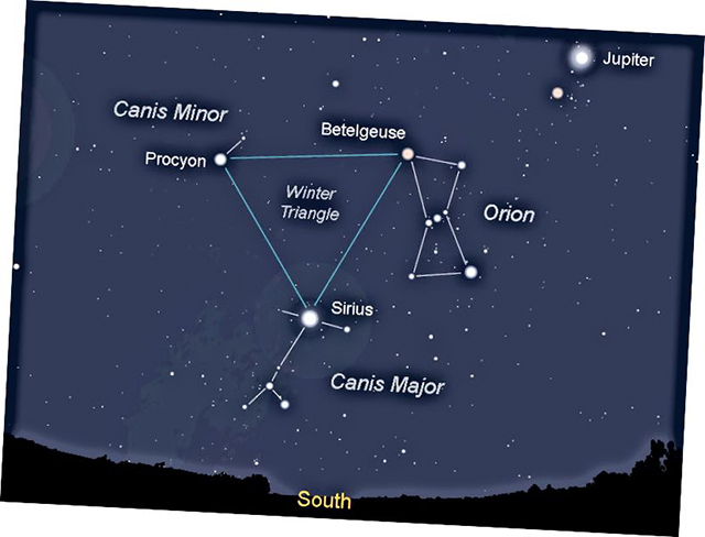 Ngôi sao sáng nhất trên bầu trời đêm - Sao Procyon
