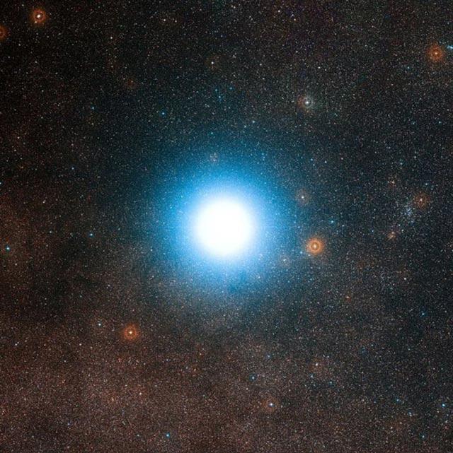 Ngôi sao sáng nhất trên bầu trời đêm - Sao Rigil Kentaurus