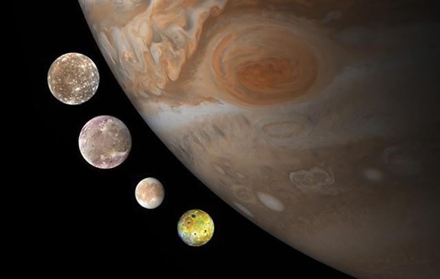 sao Mộc và vệ tinh