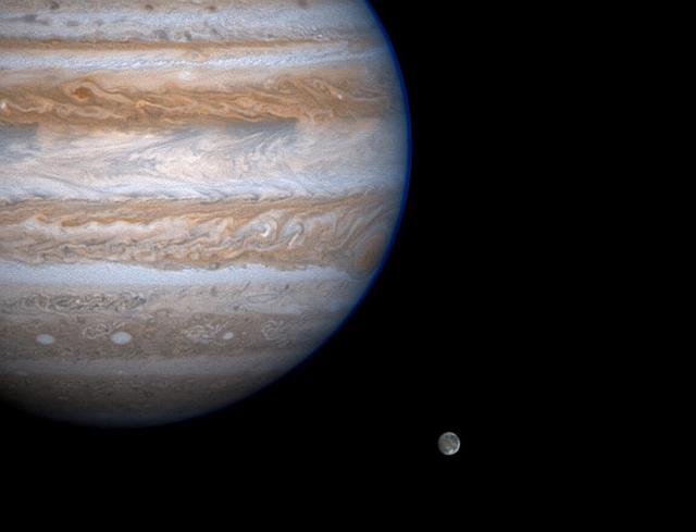 Sao Mộc và hành tinh lớn nhất của nó