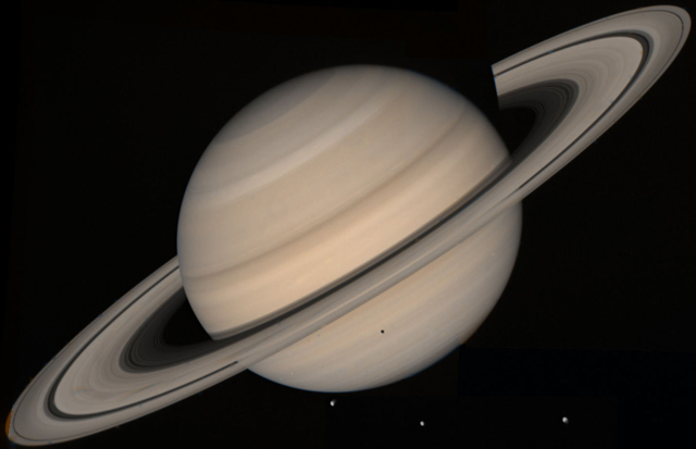 Sao Thổ có màu gì