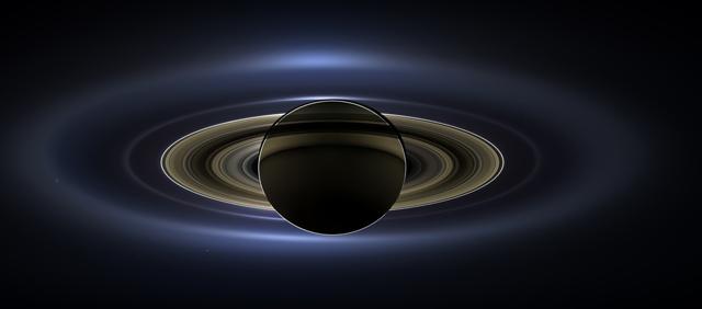 Sao thổ được chụp lại bởi tàu vũ trụ Cassini của Nasa vào năm 2013