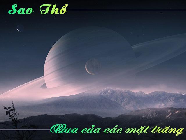 Hành tinh các vành đai mang nhiều bí ẩn