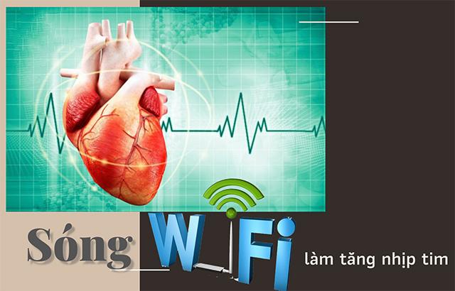 Wifi có thể làm tăng nhịp tim