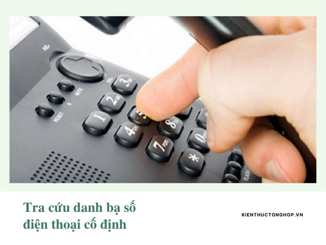 tra cứu danh bạ số điện thoại