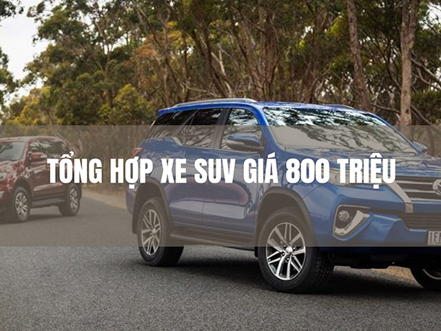 Nên mua xe SUV lloại gì?