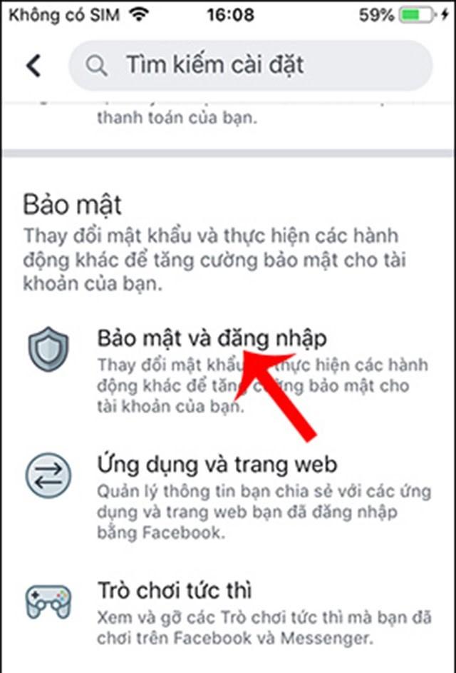 cách thay đổi mật khẩu facebook trên điện thoại