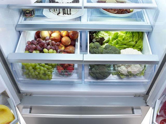 Điều chỉnh nhiệt độ tủ theo lượng thực phẩm có trong tủ