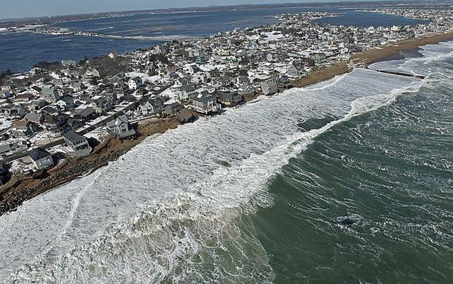 biến đổi khí hậu nước biển dâng