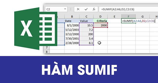 Cùng là tính tổng nhưng hàm SUMIF và SUM khác nhau về bản chất