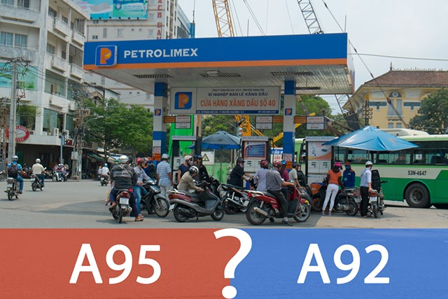 Tìm hiểu kỹ xe mình đang đi phù hợp với xăng A92 hay A95