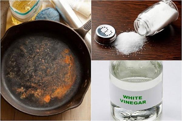Giấm ăn là nguyên liệu làm sạch không thể bỏ qua
