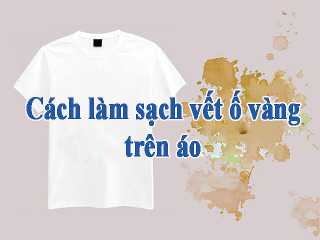 Tổng hợp những cách làm sạch vết ố trên áo trắng và áo màu hiệu quả nhất