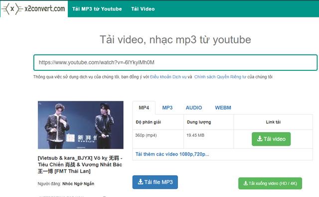 cách lấy nhạc từ Youtube