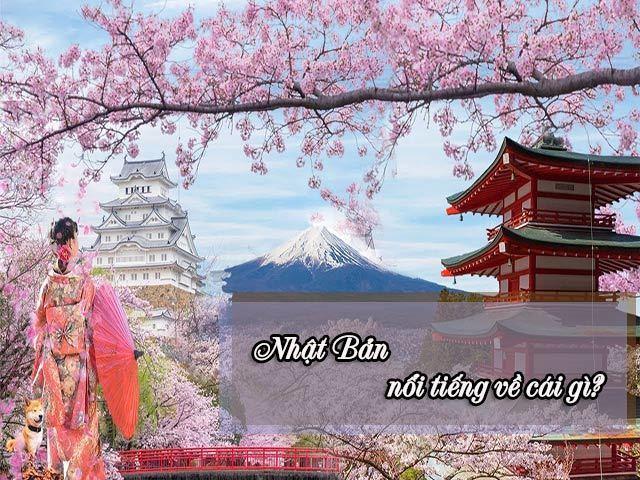 Nhật Bản nổi tiếng về cái gì? Những sự thật thú vị về xứ sở hoa anh đào