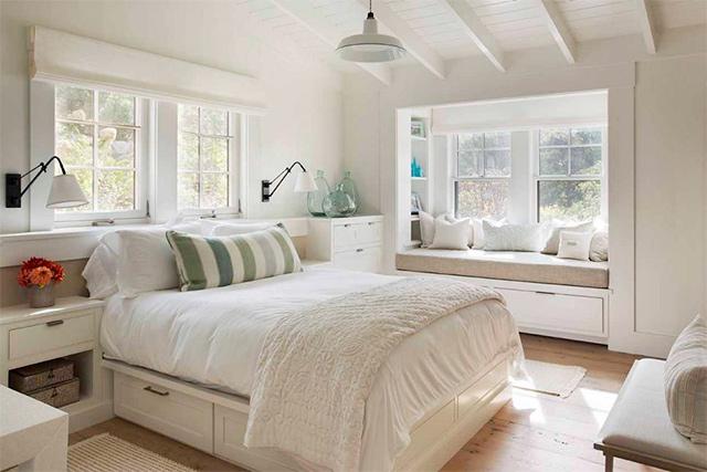 phòng ngủ 10m2 ấm áp