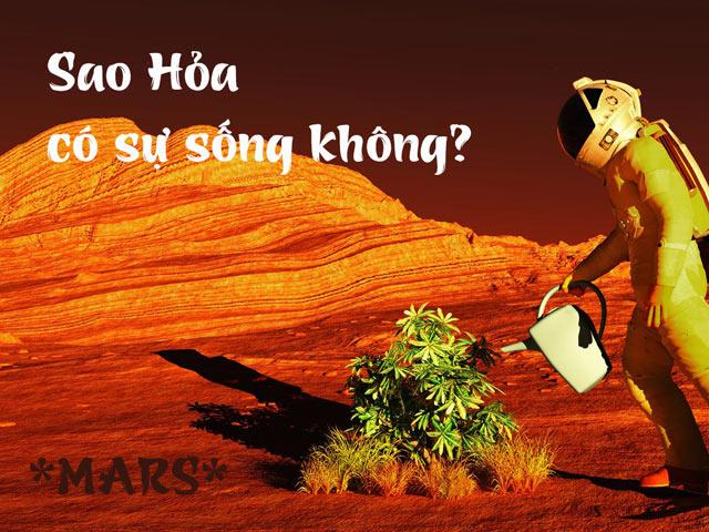 Sao Hỏa có sống được không