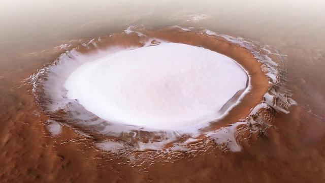 ở sao hỏa cái gì đóng băng