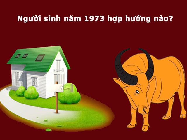 Người sinh năm 1973 hợp hướng nhà nào?