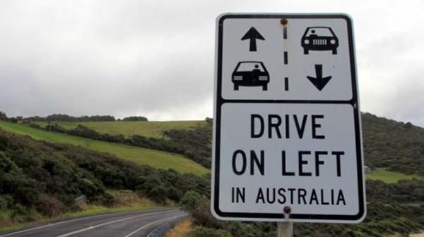 các nước lái xe bên trái