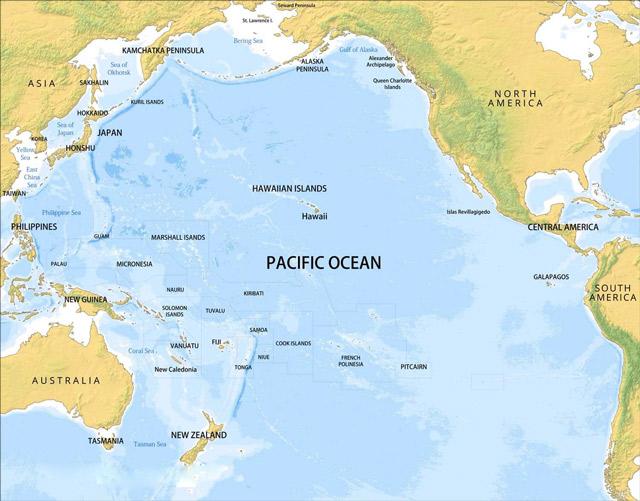 đại dương lớn nhất thế giới