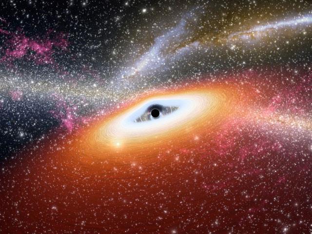 Một lỗ đen ngoài không gian
