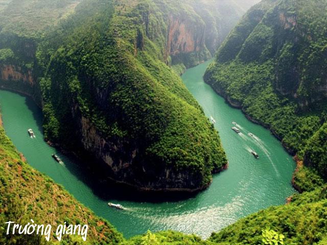 sông dài nhất châu á