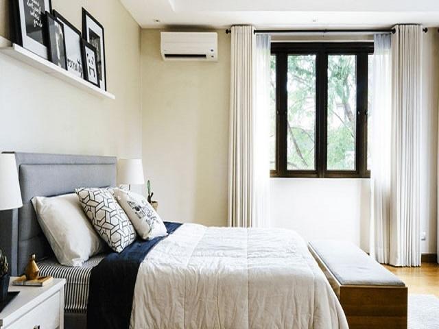 Vị trí lắp đặt điều hòa trong phòng ngủ