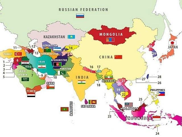 Dân số Châu Á là bao nhiêu?