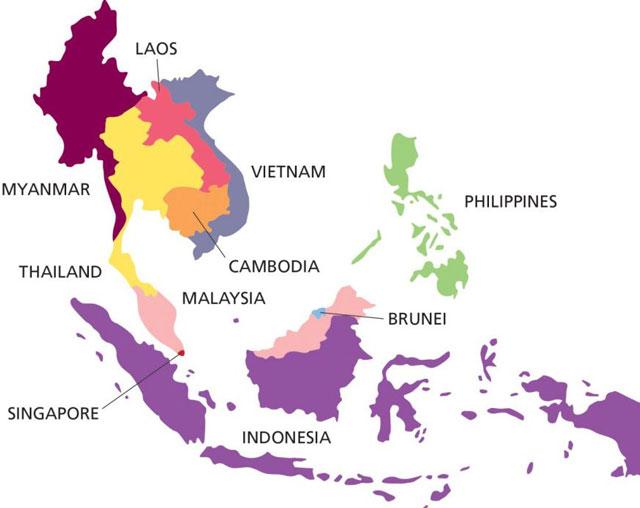 tên các nước trên thế giới bằng tiếng việt