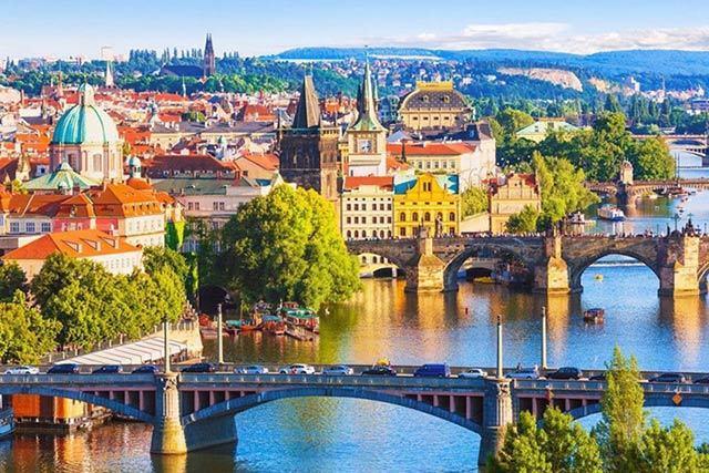 Thủ đô Prague của Séc