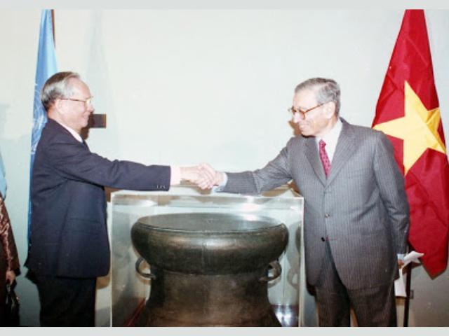biểu tượng của Việt Nam tại Liên Hợp Quốc