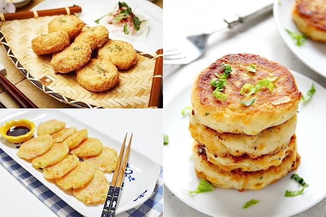 các món ăn chế biến từ khoai tây