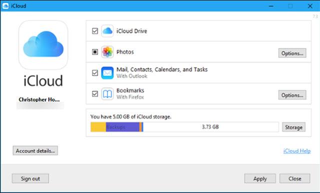 Copy hình ảnh vào máy tính Mac bằng iCloud