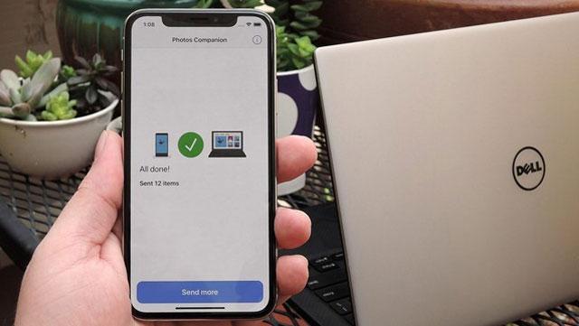 copy hình từ iphone vào máy tính