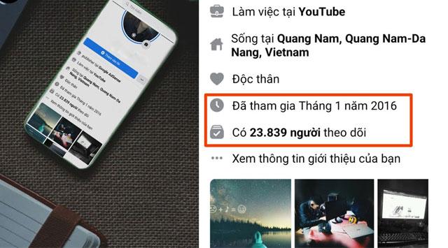 Cách làm hiện số người theo dõi trên điện thoại Android