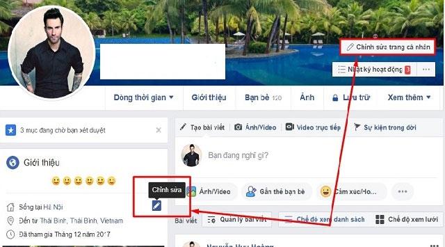 Cách làm hiển thị số người theo dõi trên facebook bằng máy tính