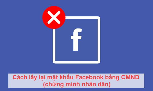 cách lấy lại mật khẩu facebook không cần email