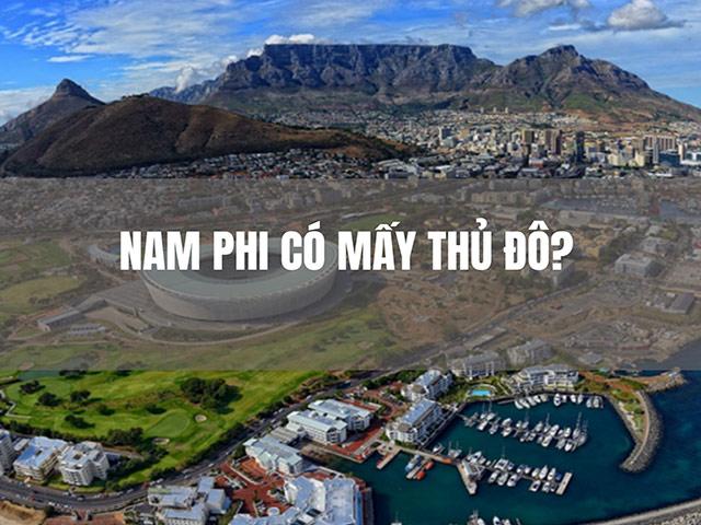 Cộng hòa Nam Phi có bao nhiêu thủ đô?