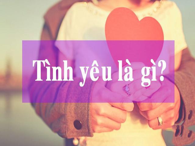 Tình yêu là gì