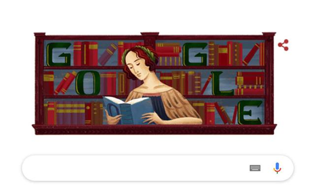 Elena Cornaro Piscopia trên Google Doodle