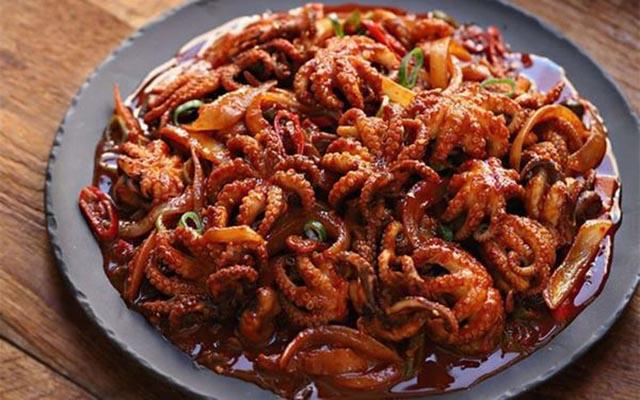 cách làm các món ăn từ bạch tuộc