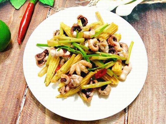 các món ngon với bạch tuộc
