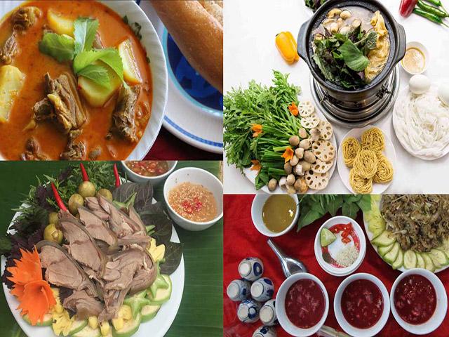 Các món ăn từ dê